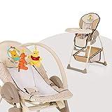 Hauck Sit'n Relax Pooh Babywippe mit Hochstuhl