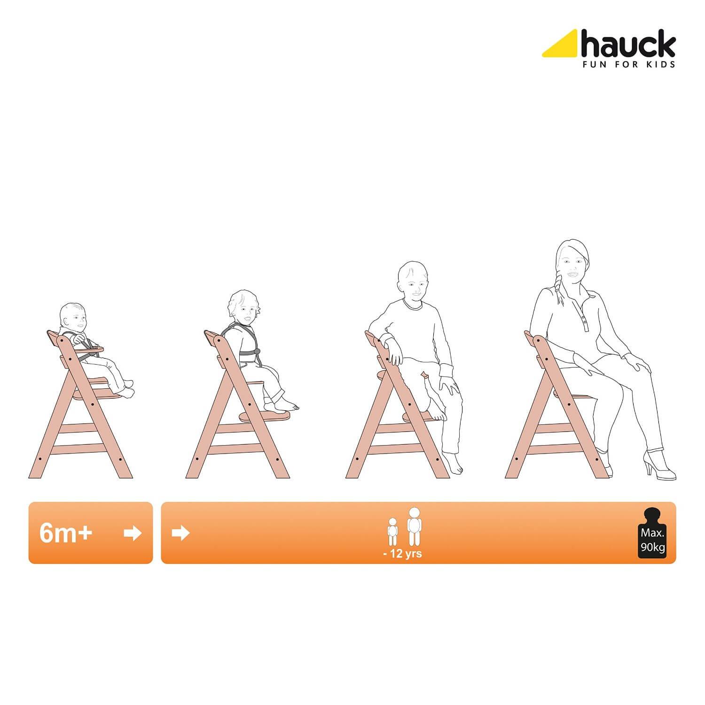 Hauck Alpha Hochstuhl Test